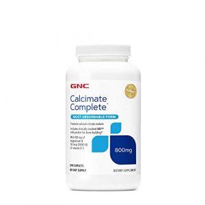 GNC Calcium Supplement 1 GNC Calcimate Complete 800 mg