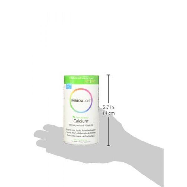 Rainbow Light Calcium Supplement 4 Rainbow Light Food Based Calcium Tablets, 180 Count