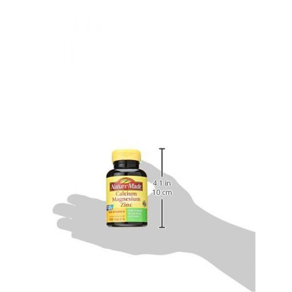 Nature Made Calcium Supplement 2 Nature Made Calcium, Magnesium & Zinc w. Vitamin D Tablets 100 Ct