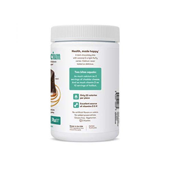 MyBite Calcium Supplement 2 Mybite Calcium Chocolate Supplement, 45 Bites, Calcium Plus Vitamin D and K to Support Bone and Immune Health