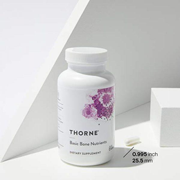 Thorne Research Calcium Supplement 3 Thorne Research - Basic Bone Nutrients - Calcium, Magnesium, Vitamin D, and Vitamin K - 120 Capsules