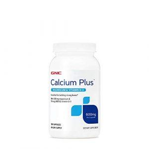 GNC Calcium Supplement 1 GNC Calcium Plus with Magnesium & Vitamin D-3 600mg