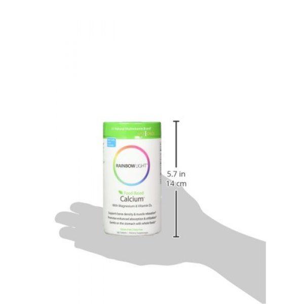 Rainbow Light Calcium Supplement 5 Rainbow Light, Food-Based Calcium, 180 Count (Pack of 2)