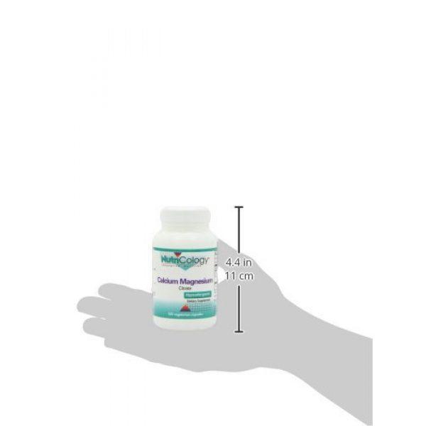 Nutricology Calcium Supplement 4 NutriCology Calcium Magnesium Citrate 100 Vegetarian Capsules