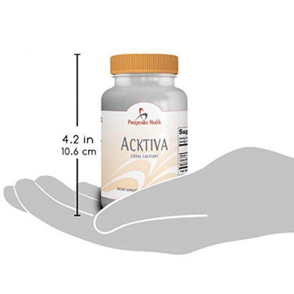 Progressive Health Calcium Supplement 5 Coral Calcium with Magnesium and Vitamin D - Acktiva Coral Calcium Supplement Can Help You Feel Great by Getting Rid of Aches and Pains