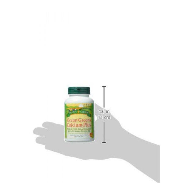 Sunny Green Calcium Supplement 3 Sunny Green Ocean Greens Calcium Plus, 120 Count