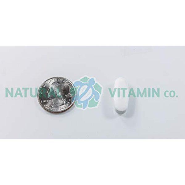 Natural Vitamin Co. Calcium Supplement 5 Natural Vitamin Co. - Cal-Mag Citrate Complex with Vitamin D3, Calcium 1000 mg, Magnesium 500 mg, Vitamin D3 400 IU, 100 Tablets, 1 Month Supply, Gluten Free, Vegetarian (100)