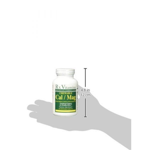 Rx Vitamins Calcium Supplement 2 RX Vitamins Chewable Calcium/Magnesium Tablets, 90 Count