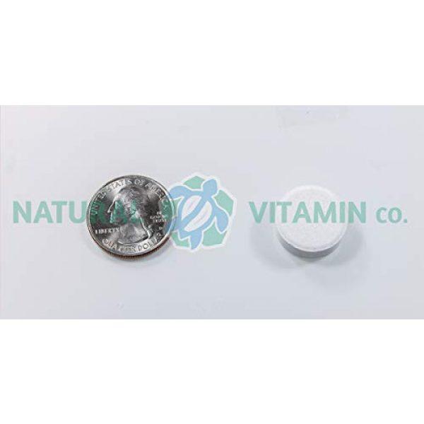 Natural Vitamin Co. Calcium Supplement 5 Natural Vitamin Co. - Chewable Calcium 1,000mg Plus Magnesium 500mg, Vitamin D3 200IU, and Boron 400mcg, Natural Citrus Flavor, 60 Tablets, 15 Day Supply, Gluten Free, Vegetarian