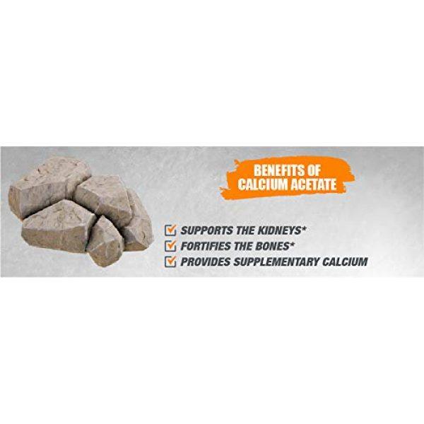 BULKSUPPLEMENTS.COM Calcium Supplement 7 Calcium Acetate (100g)