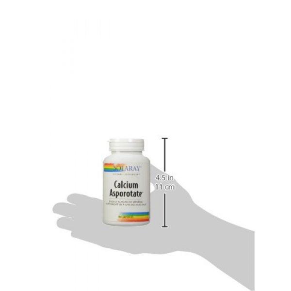Solaray Calcium Supplement 5 Solaray Calcium Asporotate, Capsule (Btl-Plastic) 800mg   100ct