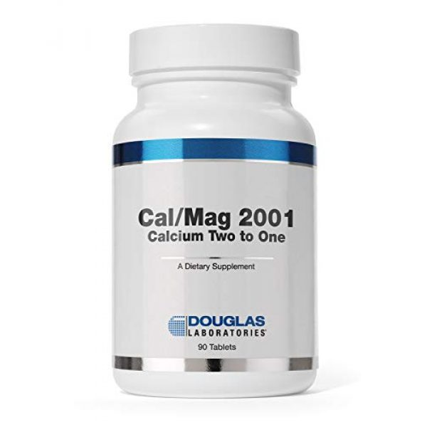 Douglas Labs Calcium Supplement 1 Douglas Laboratories - Cal/Mag 2001 (Calcium Two to One) - with Magnesium and Other Nutrients to Support Healthy Bone Structure - 180 Tablets