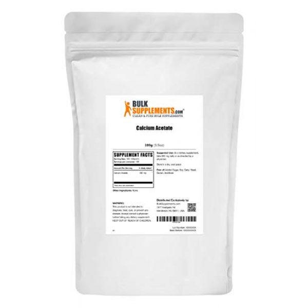 BULKSUPPLEMENTS.COM Calcium Supplement 2 Calcium Acetate (100g)