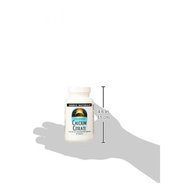 Source Naturals Calcium Supplement 4 SOURCE NATURALS Calcium Citrate 333 Mg Tablet, 90 Count