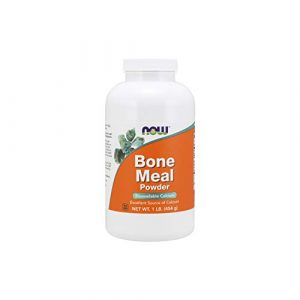 NOW Foods Calcium Supplement 1 NOW Supplements, Bone Meal Powder with Calcium Carbonate and Magnesium Oxide, Natural Calcium Source, 1-Pound