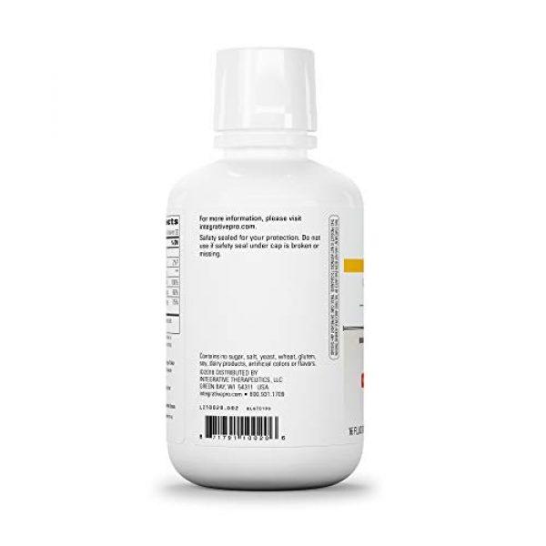 Integrative Therapeutics Calcium Supplement 3 Integrative Therapeutics - Liquid Calcium Magnesium, 2:1 Ca/Mg Ratio - Bioavailable Mineral Forms - Orange Vanilla Flavor - 16 fl oz