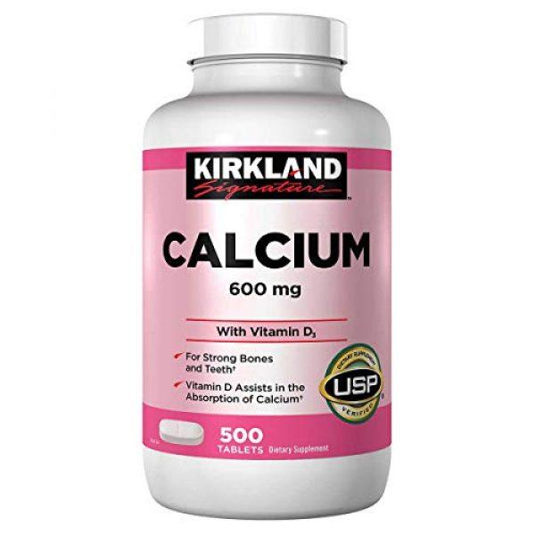Kirkland Signature Calcium Supplement 1 2 Pack Kirkland Signature Calcium 600 mg + D3, 500 Tablets Each