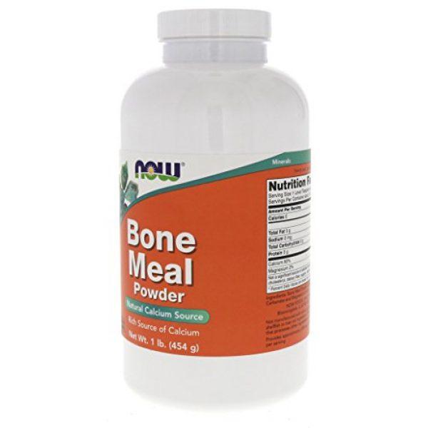 NOW Foods Calcium Supplement 2 Now Foods Bone Meal Powder 16 oz