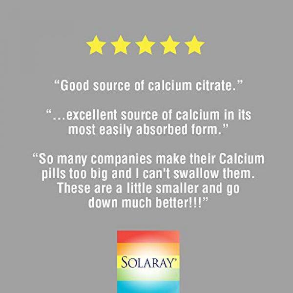 Solaray Calcium Supplement 5 Solaray Calcium Citrate Capsules, 1000mg, 120 Count