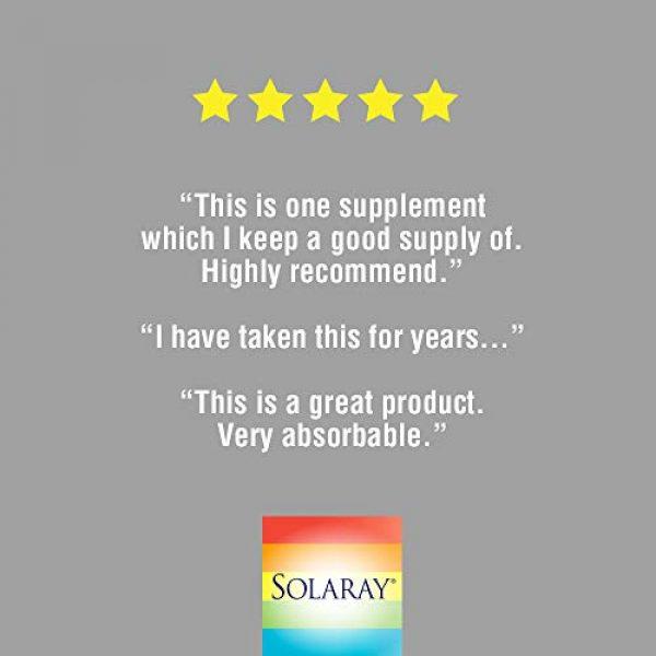 Solaray Calcium Supplement 5 Solaray Calcium & Magnesium Citrate 2:1 Ratio w/Vitamin D-3 | Healthy Bones, Muscle & Nervous System Support | High Absorption | 180 Capsules