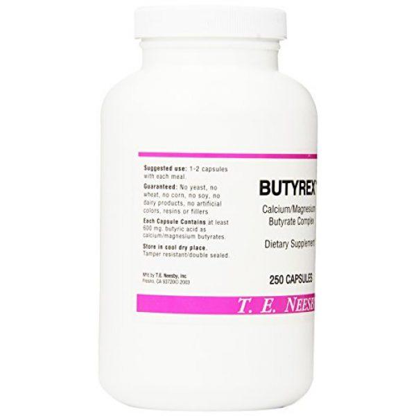 T.E. Neesby Calcium Supplement 3 Butyrex Calcium/Magnesium Butyrate Complex: 250 Capsules
