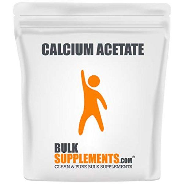 BULKSUPPLEMENTS.COM Calcium Supplement 1 Calcium Acetate (100g)