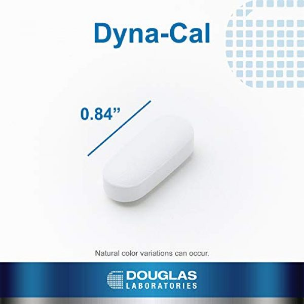 Douglas Labs Calcium Supplement 4 Douglas Laboratories - Dyna-Cal - Extra-Strength Calcium/Magnesium Complex to Support Healthy Bone Structure - 250 Tablets