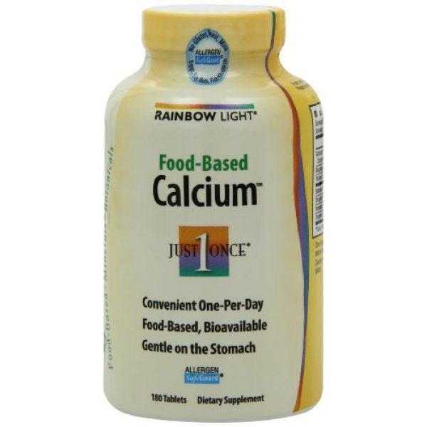 Rainbow Light Calcium Supplement 4 Rainbow Light, Food-Based Calcium, 180 Count (Pack of 2)