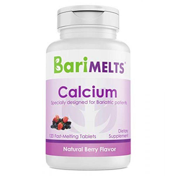 BariMelts Calcium Supplement 1 BariMelts Calcium Citrate, Dissolvable Bariatric Vitamins, Natural Berry Flavor, 120 Fast Melting Tablets