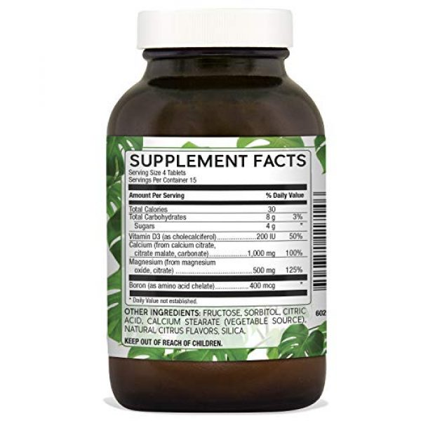 Natural Nutra Calcium Supplement 2 Natural Nutra Calcium Citrate Chewables with Magnesium and Vitamin D3, 1000/500 mg, Cal Mag D3 Chews for Bone, Teeth, Heart, Muscle and Nerve Health, Delicious Citrus Flavor, 60 Vegetarian Tablets