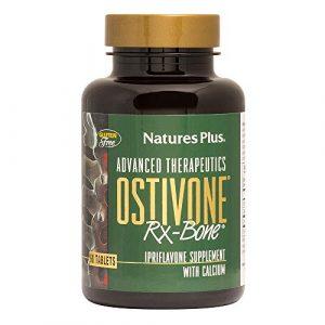Nature's Plus Calcium Supplement 1 NaturesPlus Advanced Therapeutics Ostivone Rx Bone - 60 Vegetarian Tablets - Maximum Nutritional Support for Skeletal System & Bones - with Vitamin D, Calcium - Gluten-Free - 30 Servings
