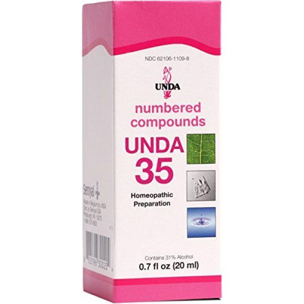 UNDA Calcium Supplement 1 UNDA - UNDA 35 Numbered Compounds - Homeopathic Preparation - 0.7 fl. oz.