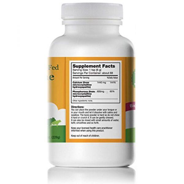 Traditional Foods Market Calcium Supplement 2 Whole Bone Calcium - Free-Range & Pasture-Fed, 8oz, by Traditional Foods Market