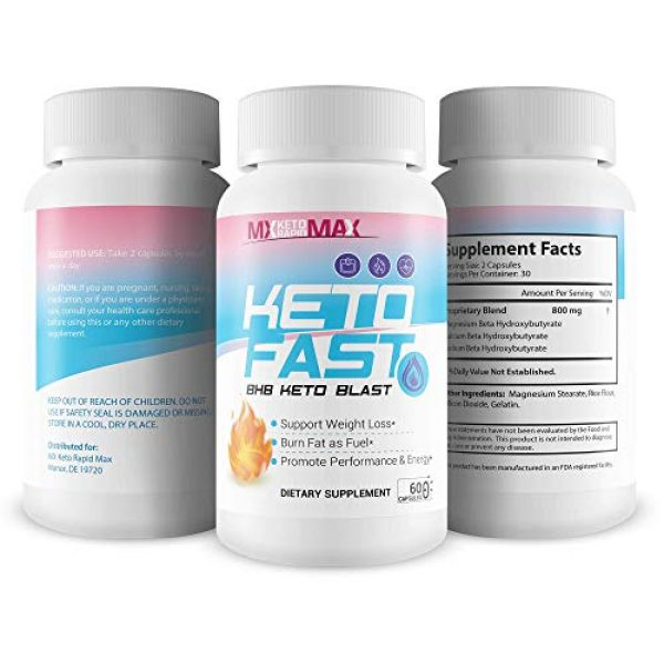 MX Keto Rapid Max Calcium Supplement 4 Keto Fast - BHB Keto Blast - Burn Fat Fast with Accelerated Ketosis Entry - by MX Keto Rapid Max - Feel The MX Keto Blast Effect of Calcium BHB Salts for max Rapid Keto Fat Burning and Weight Loss