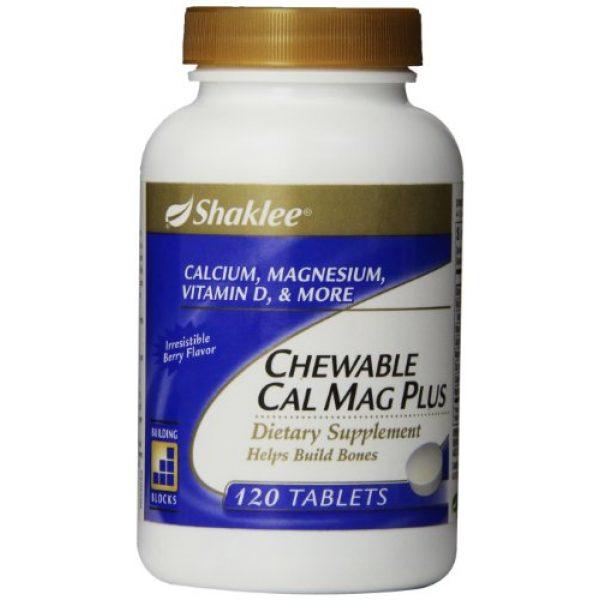 Shaklee Calcium Supplement 1 Shaklee Chewable Cal Mag Plus 120 ct.