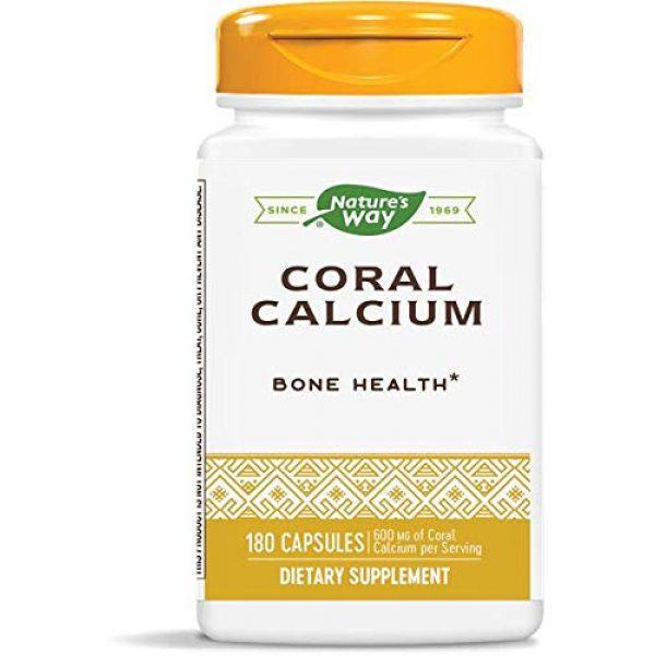 Nature's Way Calcium Supplement 1 Nature's Way Coral Calcium 600 mg, 180 Count