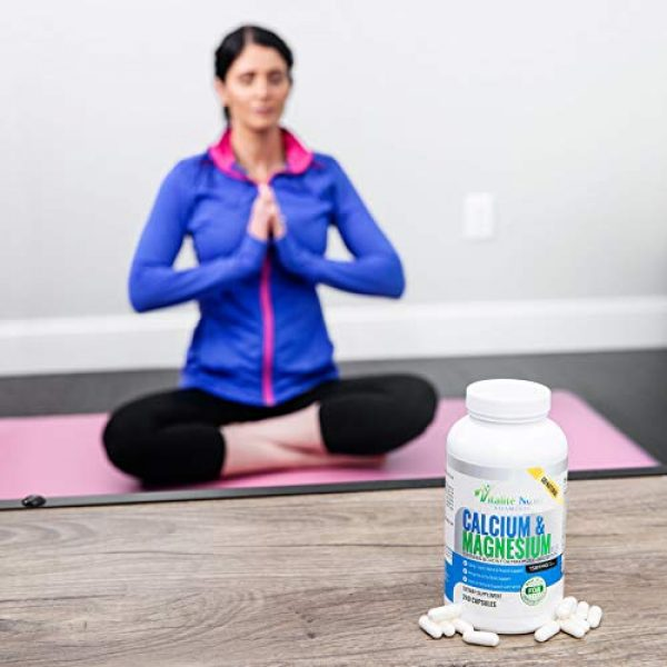 Vitalit Now Calcium Supplement 7 Best Calcium & Magnesium + Vitamin D3 400 IU - Highly Absorbable with Boron - 10 Forms of Calcium + Phosphorus for Bone Strength - All Natural - 240 Capsules - 2 Month Supply!