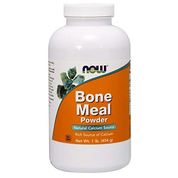 NOW Foods Calcium Supplement 1 NOW Bone Meal,1-Pound (Pack of 2)