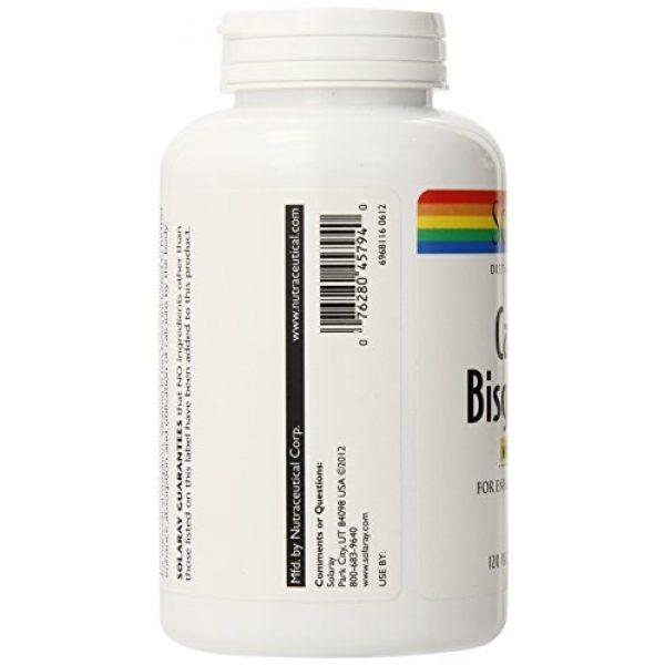 Solaray Calcium Supplement 4 Solaray Calcium w/ D3 Bisglycinate, Veg Cap (Btl-Plastic) 1000mg   120ct