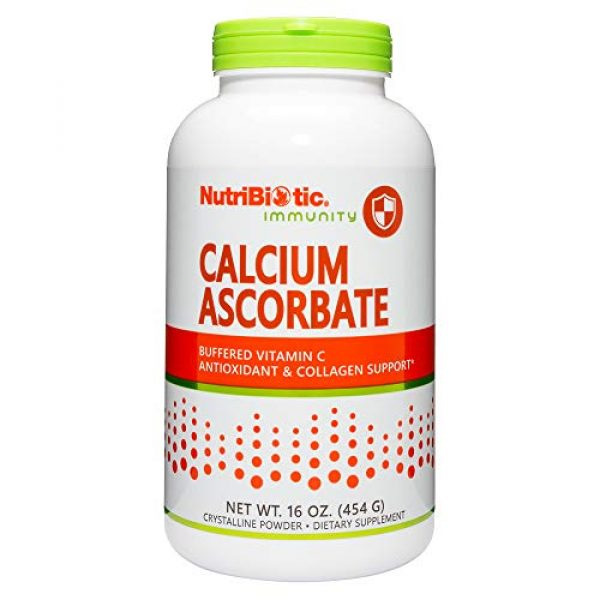 Nutribiotic Calcium Supplement 1 Nutribiotic Calcium Ascorbate Powder, 16 Ounce