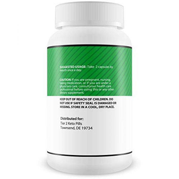Tier 2 Keto Pills Calcium Supplement 3 Ultra Tier II Keto Pills with Bhb - Fast Acting Advanced Weight Loss Support - Burn More Fat & Lose More Weight with Faster Ketosis - Calcium BHB - Ketogenic Accelerator - Tier 2 Keto Pills