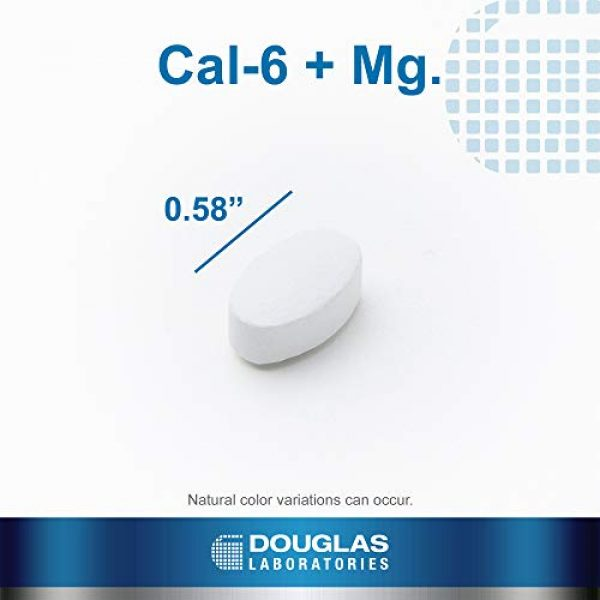 Douglas Labs Calcium Supplement 4 Douglas Laboratories - Cal-6 + Mg. - Six-Source Calcium Complex with Magnesium to Support Healthy Bones and Teeth - 250 Tablets