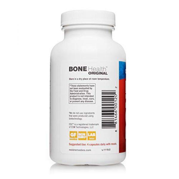 Redd Remedies Calcium Supplement 6 Redd Remedies, Bone Health Original, Supports Bone Mineral Density, 120 Capsules