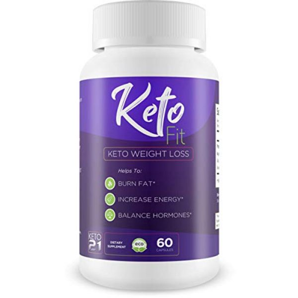 Keto 21 Calcium Supplement 1 Keto Fit - Keto Weight Loss - Burn Fat - Increase Energy - Balance Hormones - Help to induce Ketosis Faster to Start Burning Fat Sooner! Feel The Power of Keto Weight Loss!