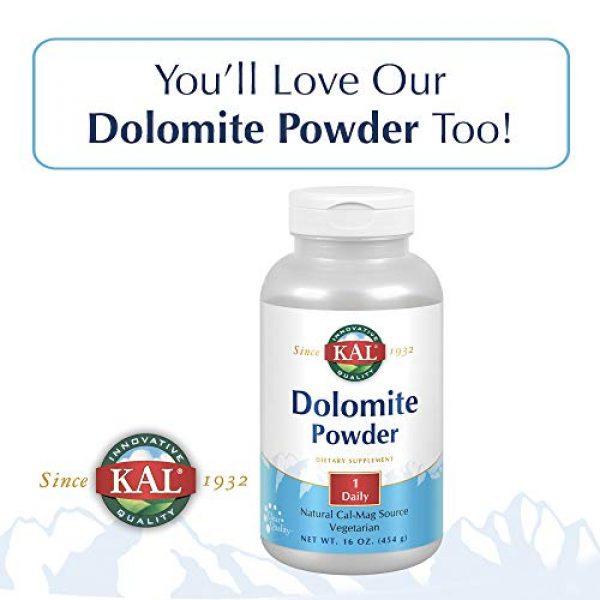 KAL Calcium Supplement 6 KAL Dolomite Tablets, 250.4 mg, 500 Count