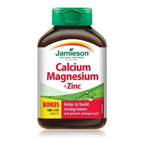 Jamieson Calcium Supplement 1 Jamieson Calcium Magnesium + Zinc