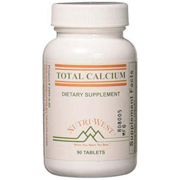 Nutri-West Calcium Supplement 1 Nutri-West - Total Calcium - 90 by Nutri-West