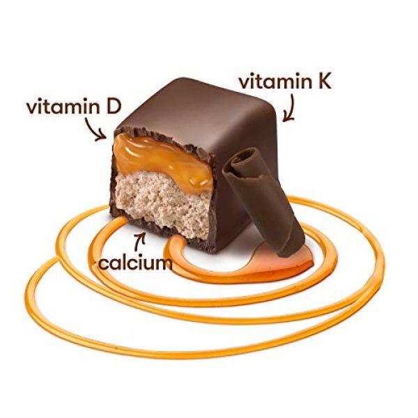 MyBite Calcium Supplement 3 Mybite Calcium Chocolate Supplement, 45 Bites, Calcium Plus Vitamin D and K to Support Bone and Immune Health