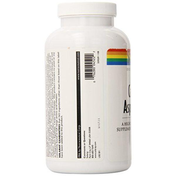 Solaray Calcium Supplement 4 Solaray Calcium and Magnesium Asporotate Capsules   240 Count
