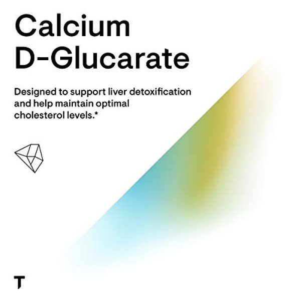 Thorne Research Calcium Supplement 4 Thorne Research - Calcium D-Glucarate - to Enhance Liver Health - 90 Capsules